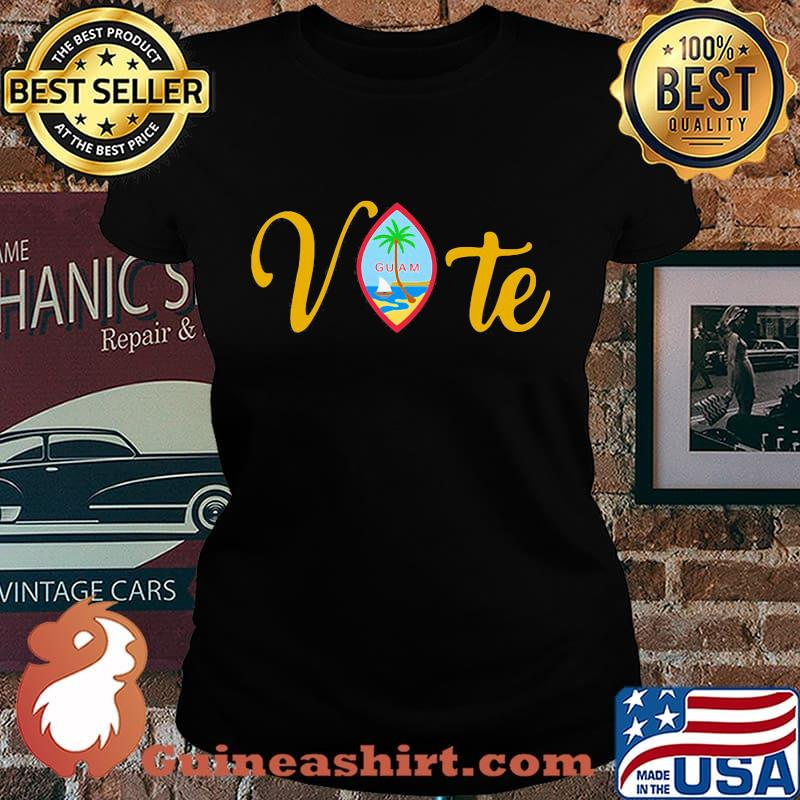 Vote guam where america's day begins s Laides tee