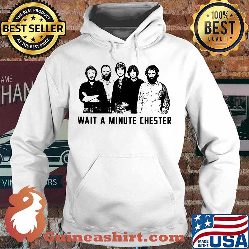 Wait a minute chester the weight band s Hoodie