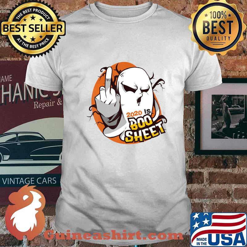 2020 Is Boo Sheet Tee Funny Halloween Ghost Gift Custome T-Shirt