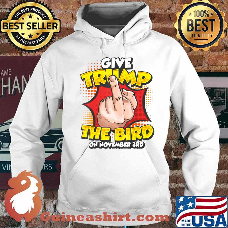 Funny Anti Trump Vote Political Dump Trump November 3rd T-Shirt Hoodie
