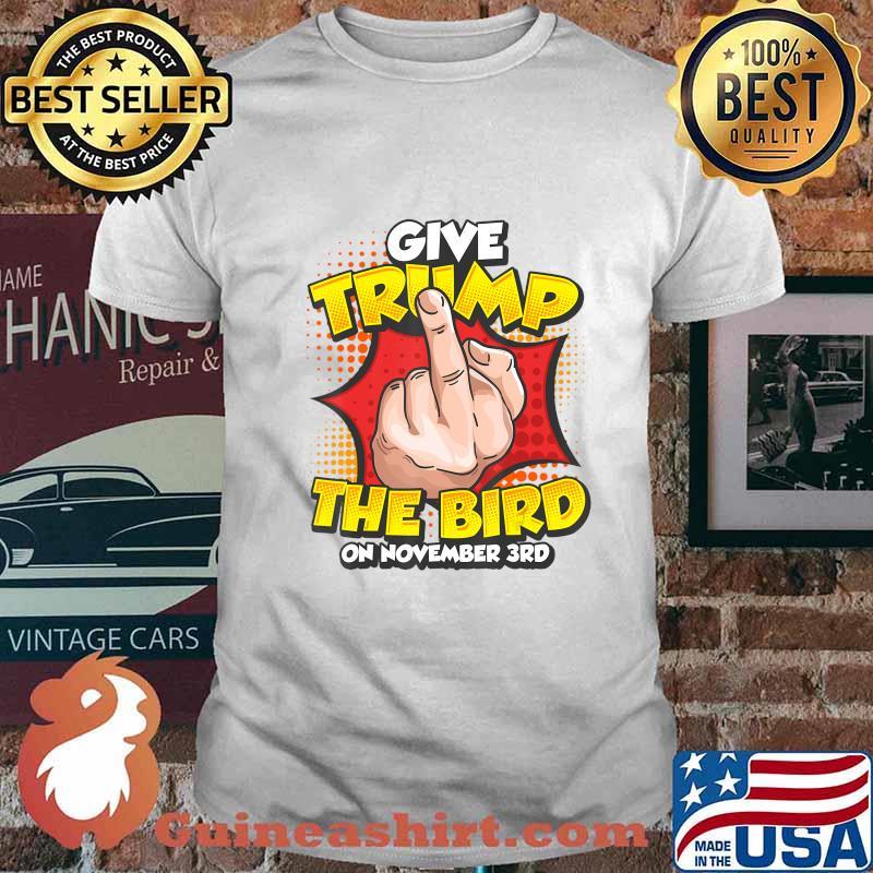 Funny Anti Trump Vote Political Dump Trump November 3rd T-Shirt