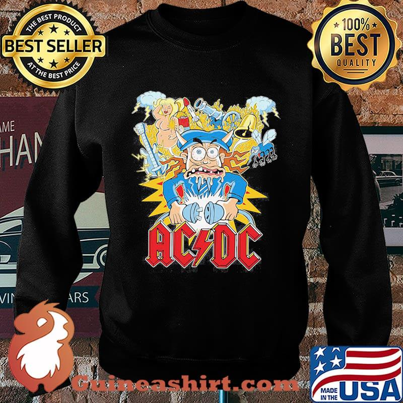Acdc band hells bells satan vintage s Sweater