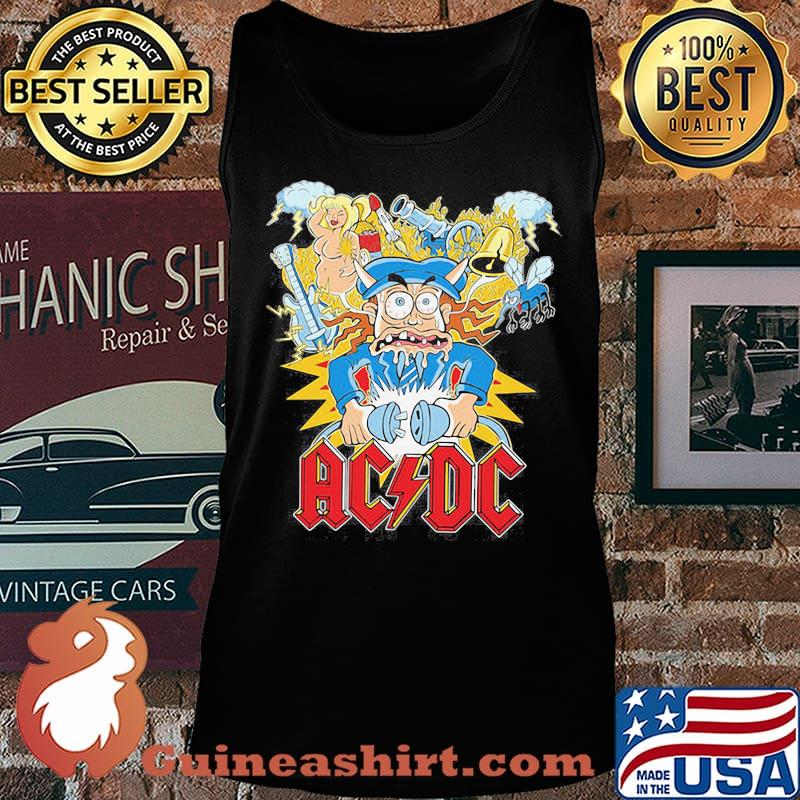 Acdc band hells bells satan vintage s Tank top