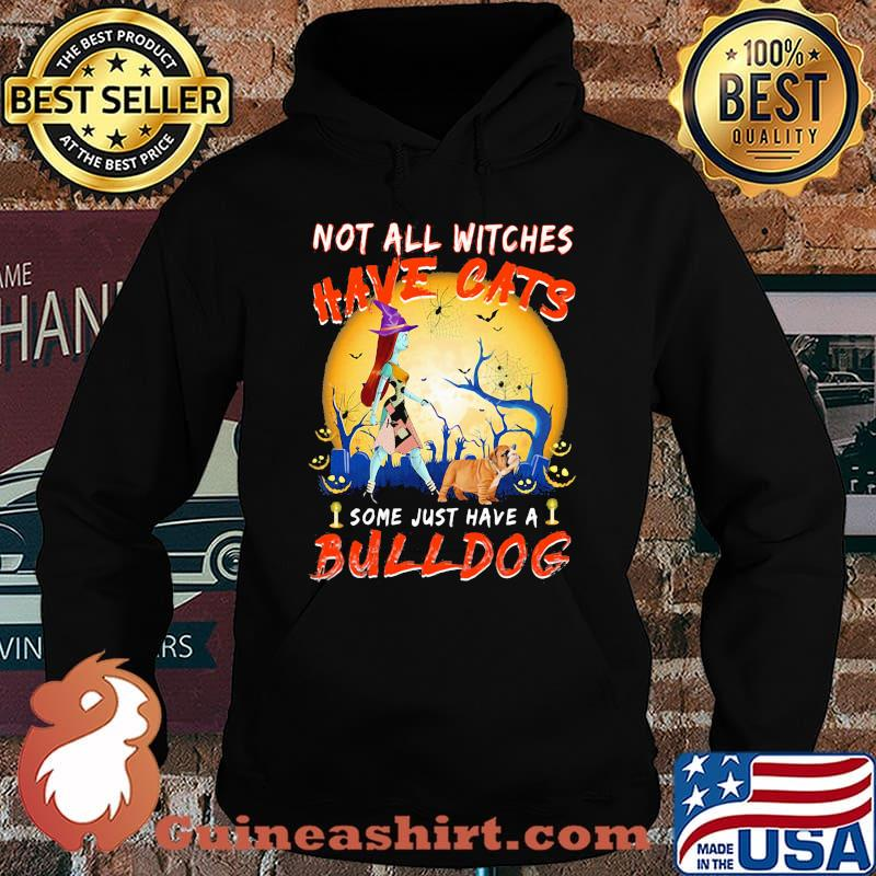 Halloween nightmare not all witches have cats some just have a bulldog s Hoodie