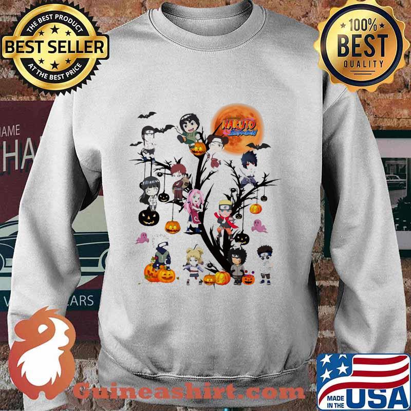 Happy halloween tree naruto characters chibi moon s Sweater