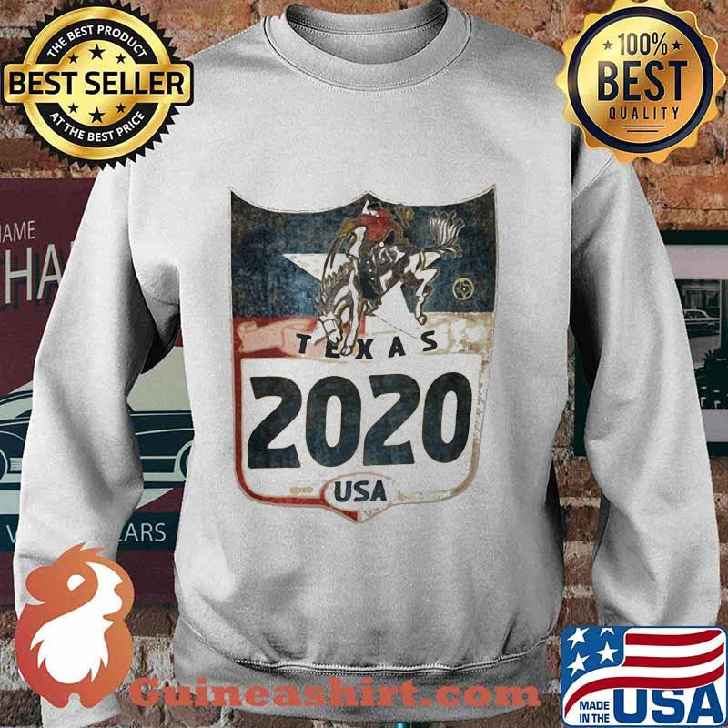 Horse and cowboys texas 2020 usa s Sweater