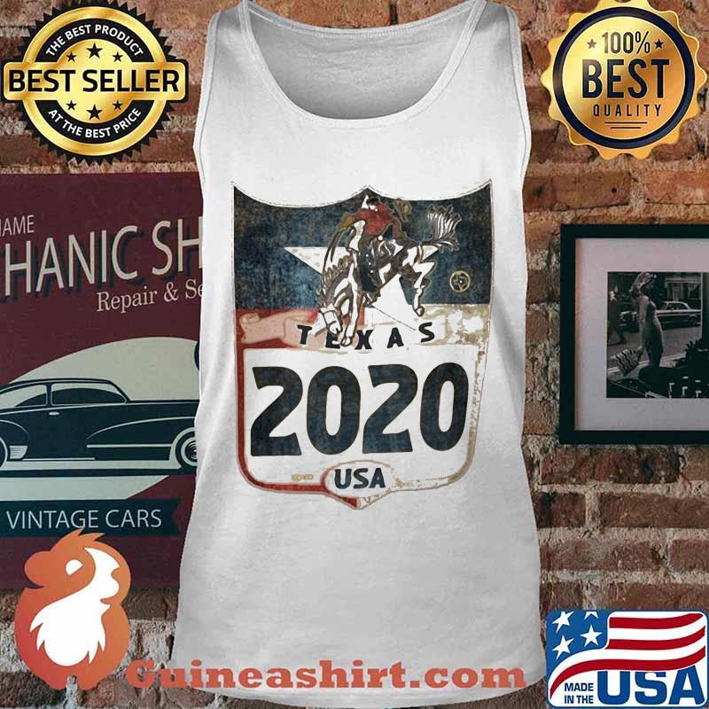 Horse and cowboys texas 2020 usa s Tank top
