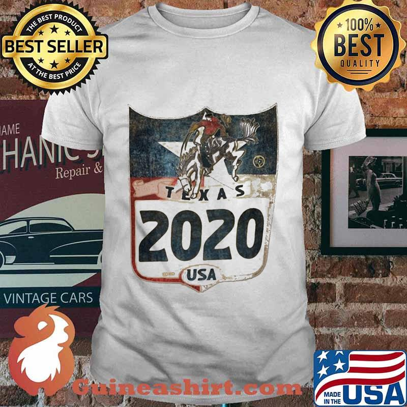 Horse and cowboys texas 2020 usa shirt