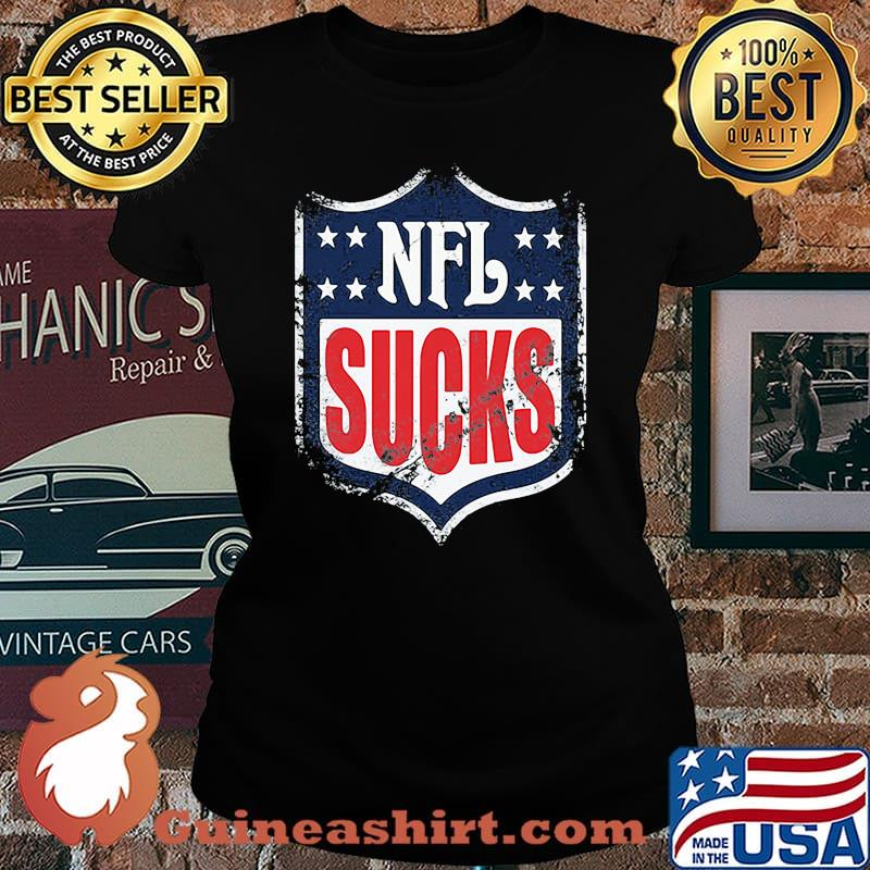 Nfl sucks football for america s Laides tee