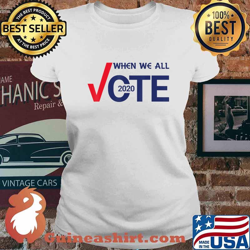 November Is Coming Shirt Midterms March T-Shirt Ladies tee