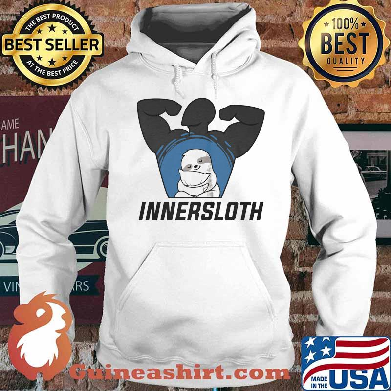Official innersloth man strong symbol s Hoodie