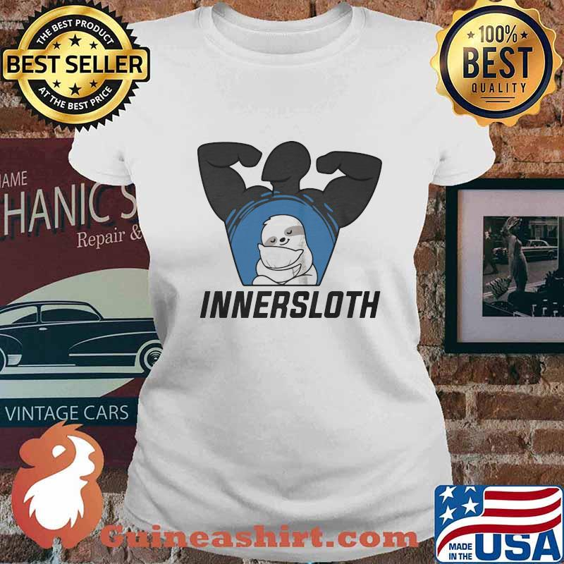Official innersloth man strong symbol s Ladies tee
