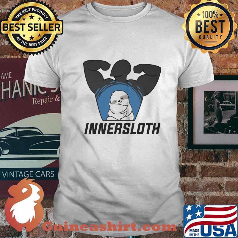 Official innersloth man strong symbol shirt