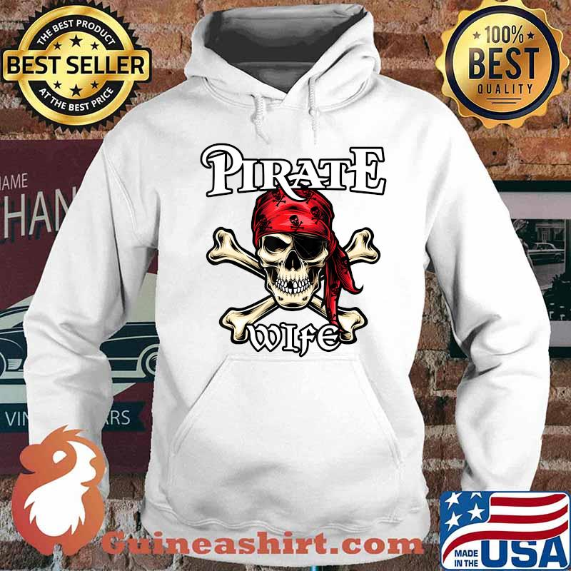 Pirate WIFE T-Shirt Family Member WIFES T-Shirt Hoodie