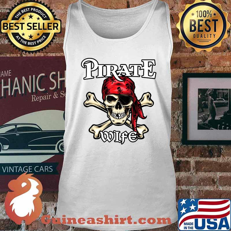 Pirate WIFE T-Shirt Family Member WIFES T-Shirt Tank top