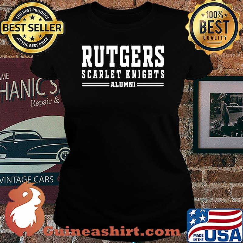 Rutgers scarlet knights alumni s Laides tee