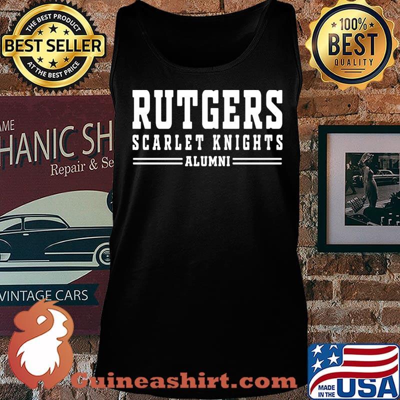 Rutgers scarlet knights alumni s Tank top