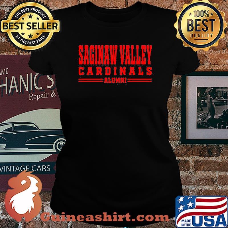 Saginaw valley cardinals alumni s Laides tee