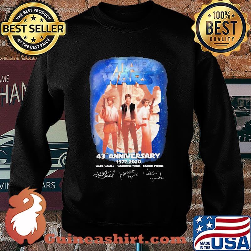 Star wars 43th anniversary 1977 2020 signature vintage s Sweater