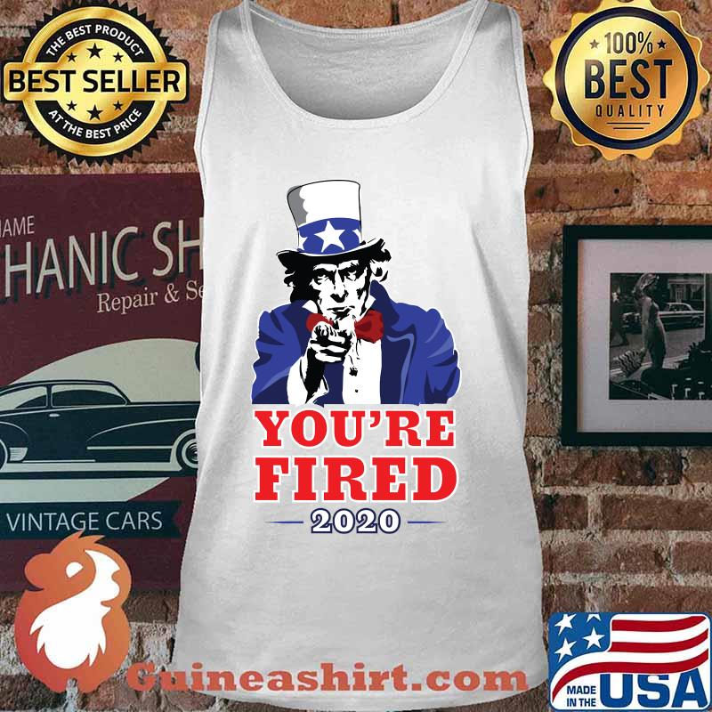 2020 election progressive you're fired uncle sam s Tank top