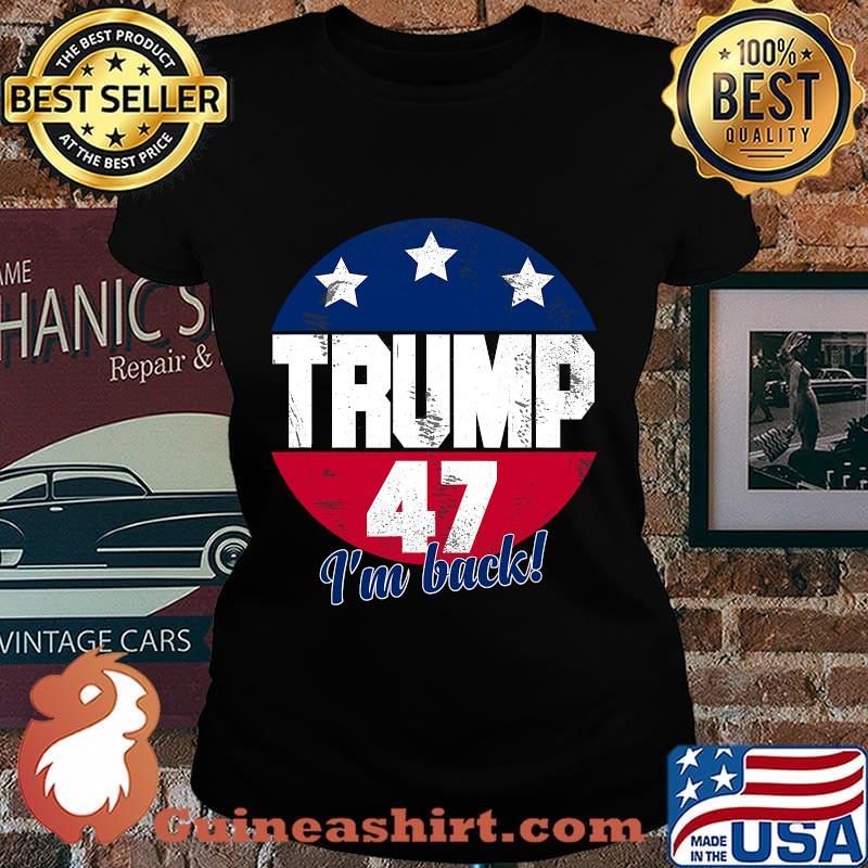 Donald trump 2024 election campaign president trump 47 vintage s Laides tee