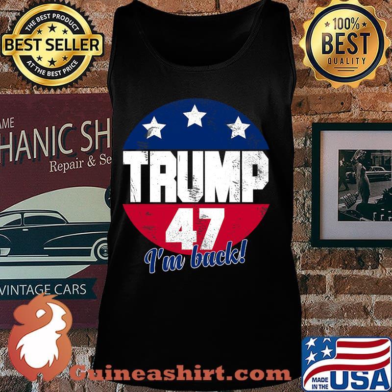 Donald trump 2024 election campaign president trump 47 vintage s Tank top