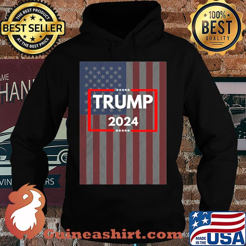 Donald trump 2024 for us president american flag s Hoodie