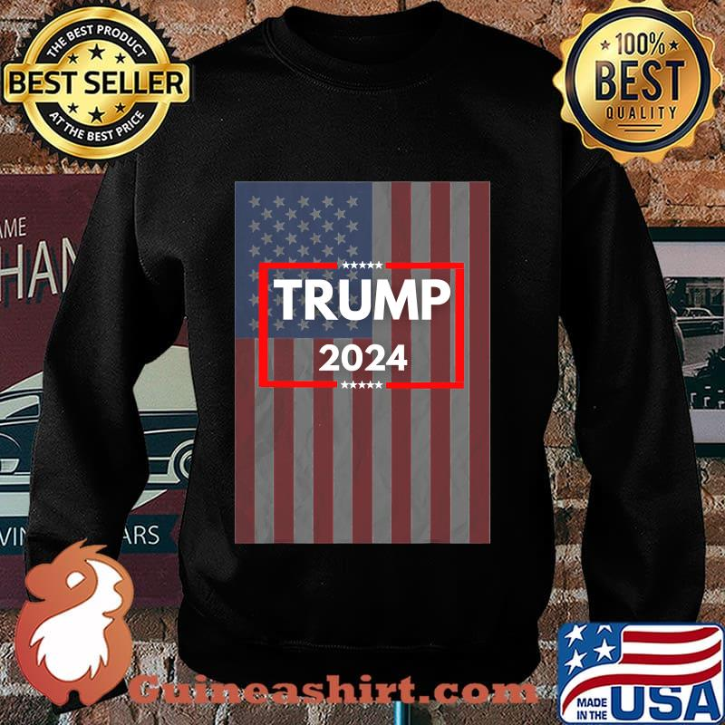 Donald trump 2024 for us president american flag s Sweater