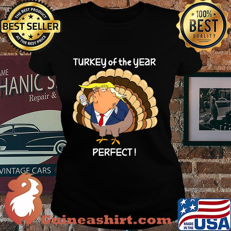 Donald trump thanksgiving day turkey s Laides tee