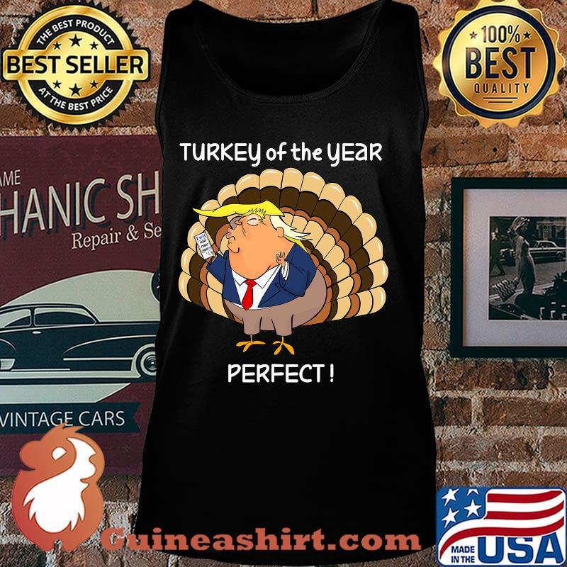 Donald trump thanksgiving day turkey s Tank top