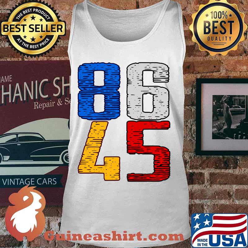Donald trump you're fired 86 45 vintage s Tank top