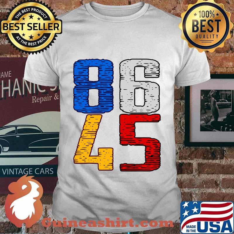 Donald trump you're fired 86 45 vintage shirt