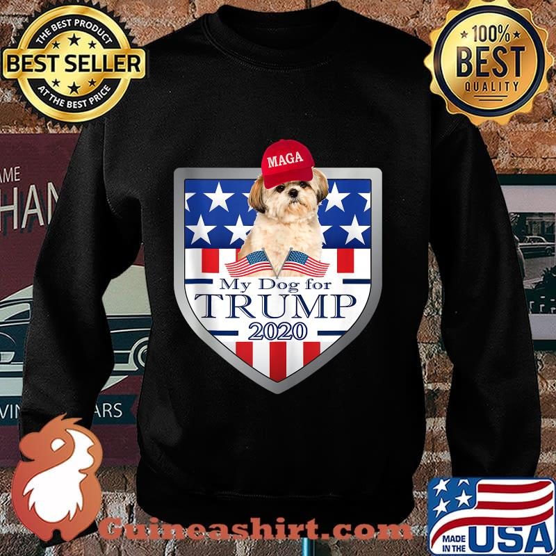 My shih tzu for trump 2020 for american stars s Sweater