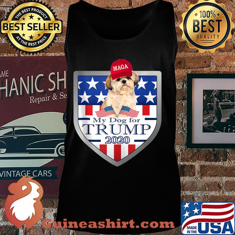 My shih tzu for trump 2020 for american stars s Tank top