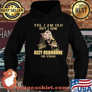 Yes I Am Old But I Saw Ozzy Osbourne On Stage Signature Shirt Hoodie