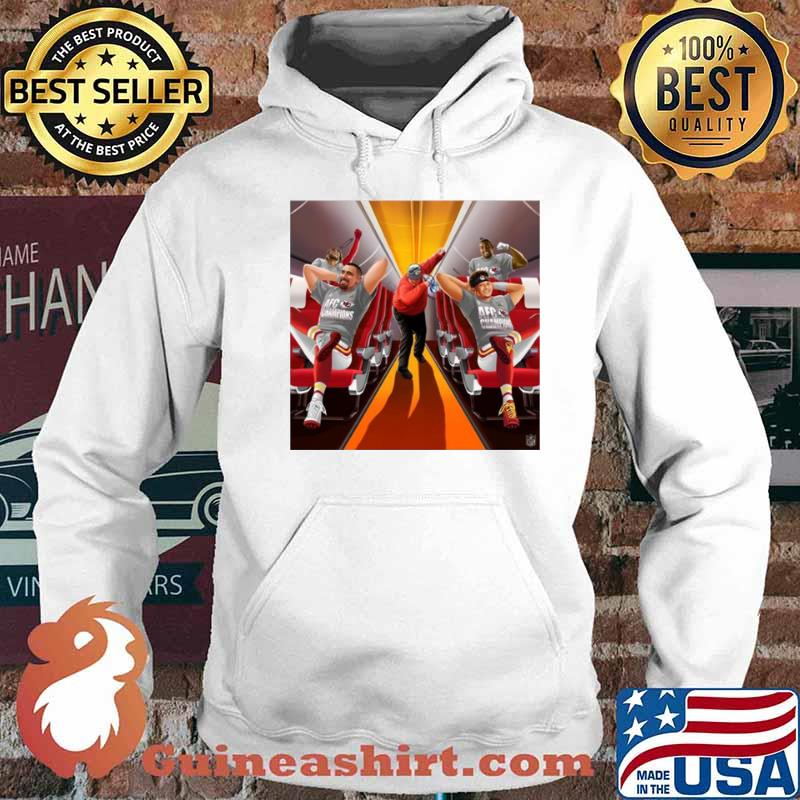 Afc Champions Kansas City Chiefs Super Bowl Lv 2021 Hoodie