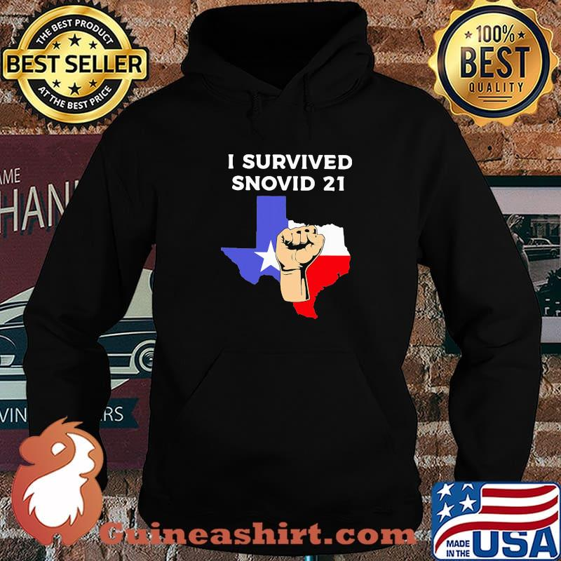 I Survived Snovid 21 Flag Shirt Hoodie