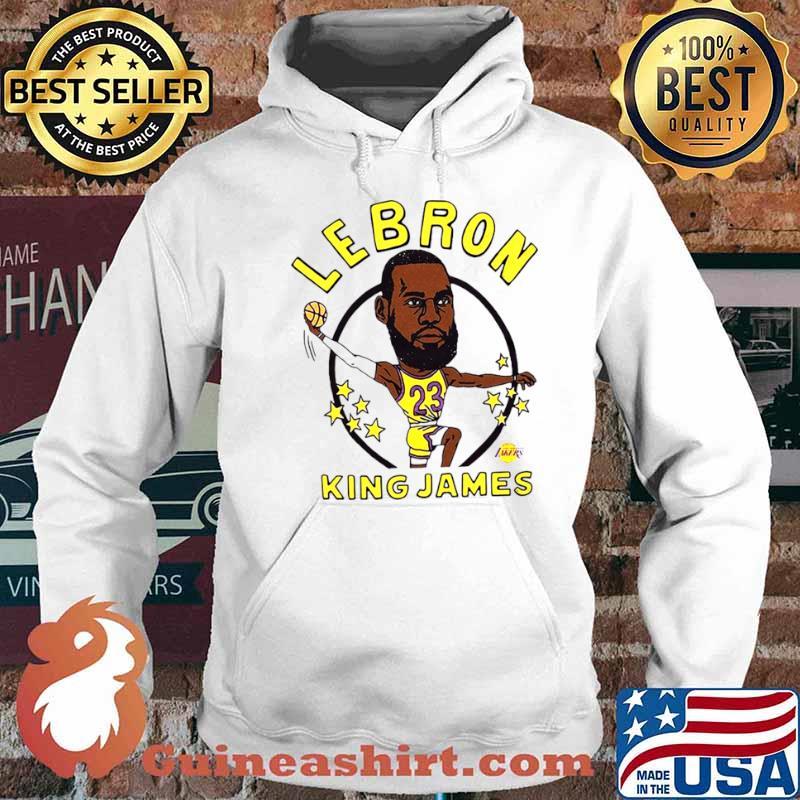 Los Angeles Lakers Lebron King James Hoodie