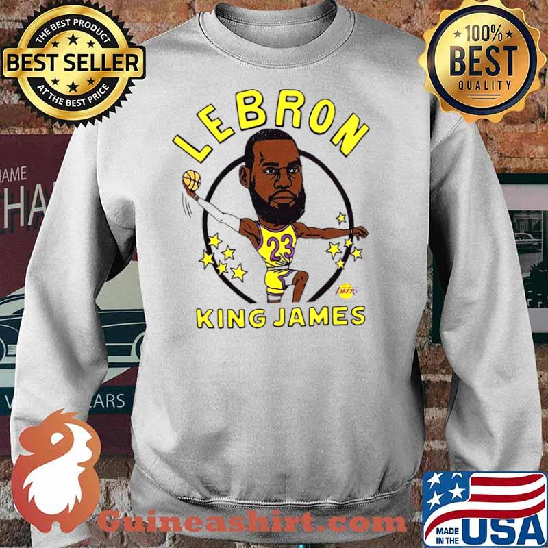 Los Angeles Lakers Lebron King James Sweater