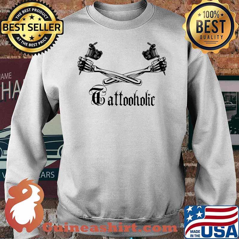 Tattoo Holic Art Bone Arm Shirt Sweater