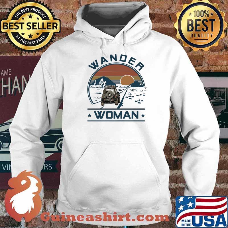 Wander Woman Uaz Car Vintage Shirt Hoodie