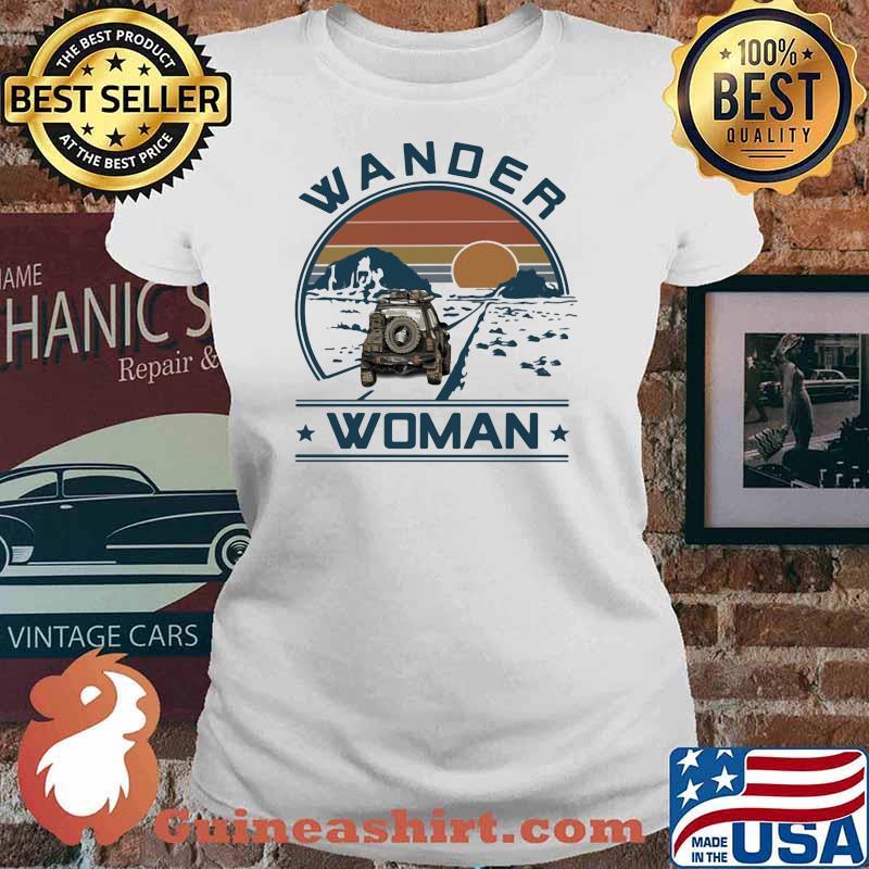 Wander Woman Uaz Car Vintage Shirt Ladies tee