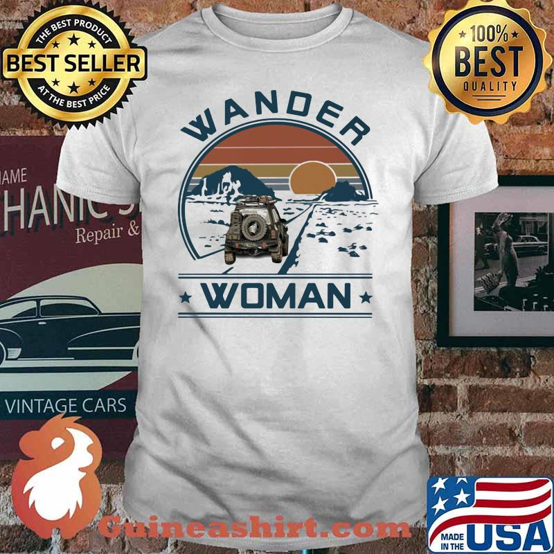 Wander Woman Uaz Car Vintage Shirt