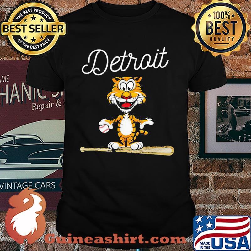Baseball-Distressed-1-Tiger-Mascot-Shirt