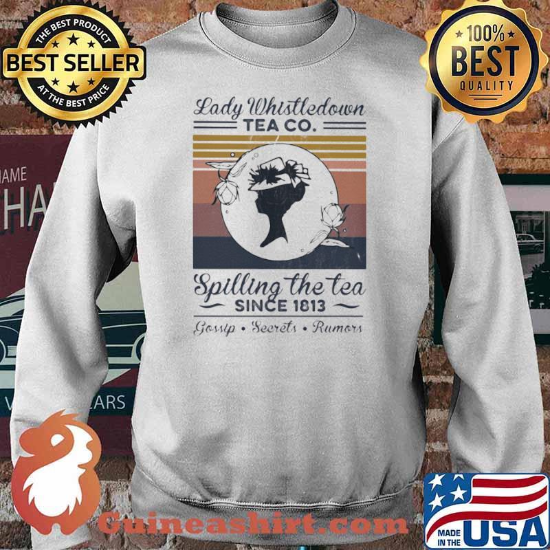 Lady Whistledown Tea Co Spilling The Tea Since 1813 Vintage Sweater
