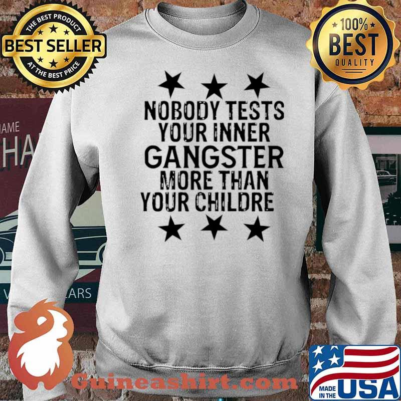 Nobody Tests Your Inner Gangster More Than Your Children Sweater