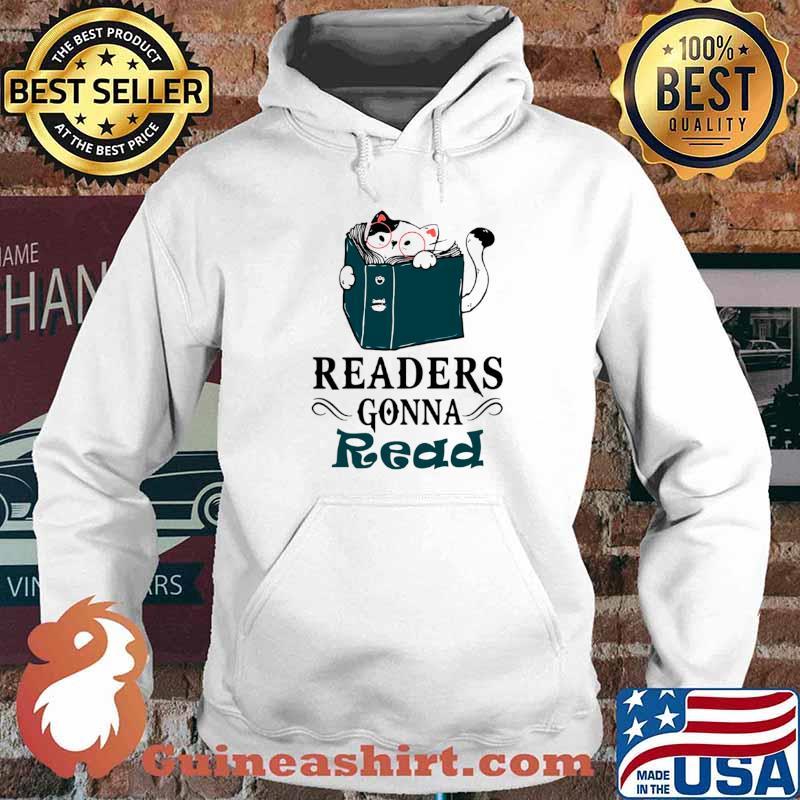 Readers Gonna Read Cat Book Hoodie