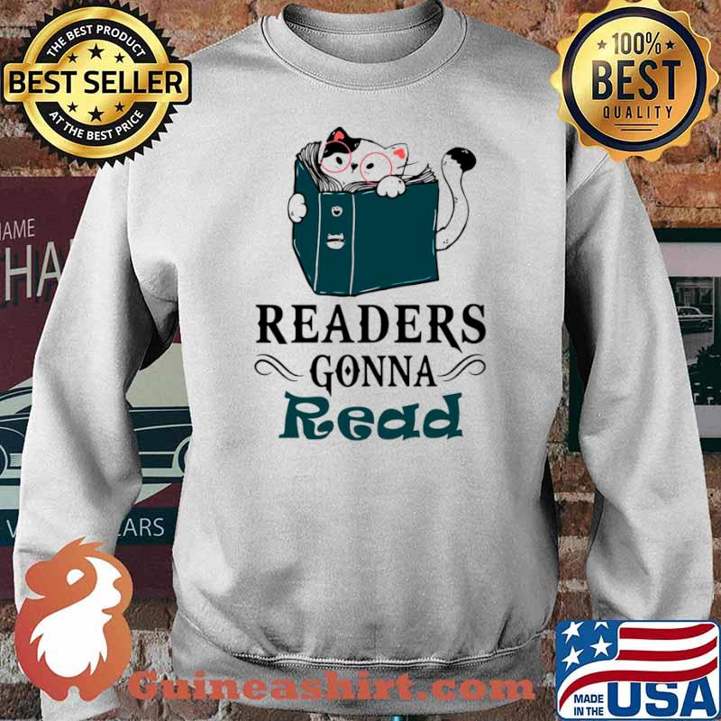 Readers Gonna Read Cat Book Sweater