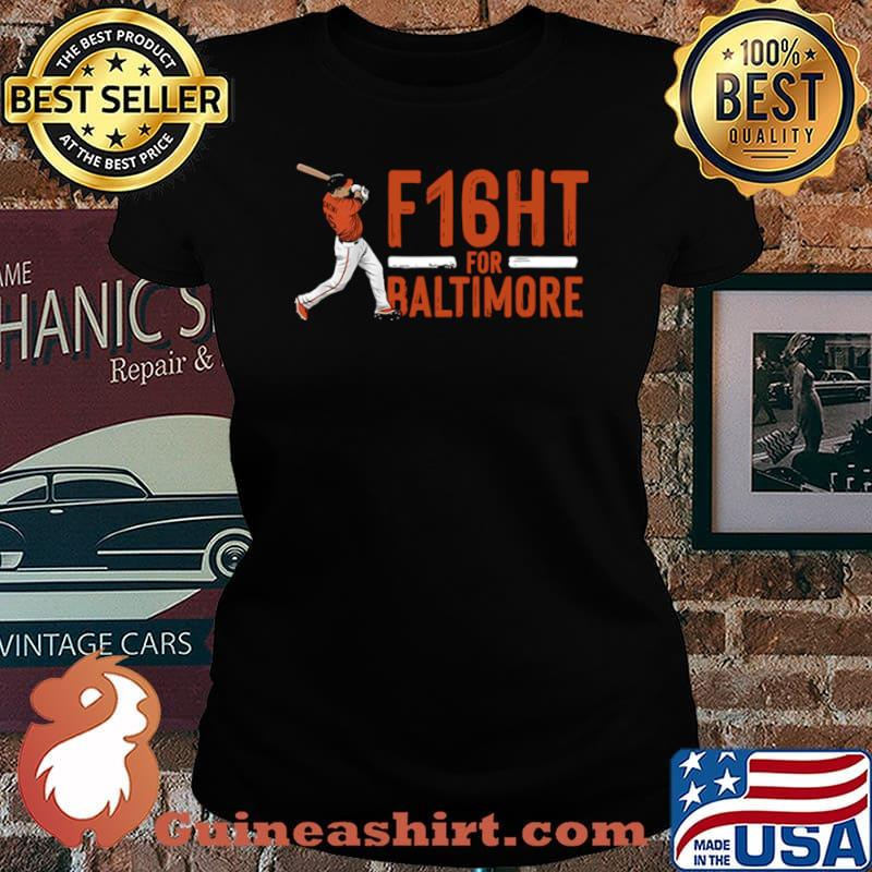 Trey mancini f16ht for baltimore Laides tee