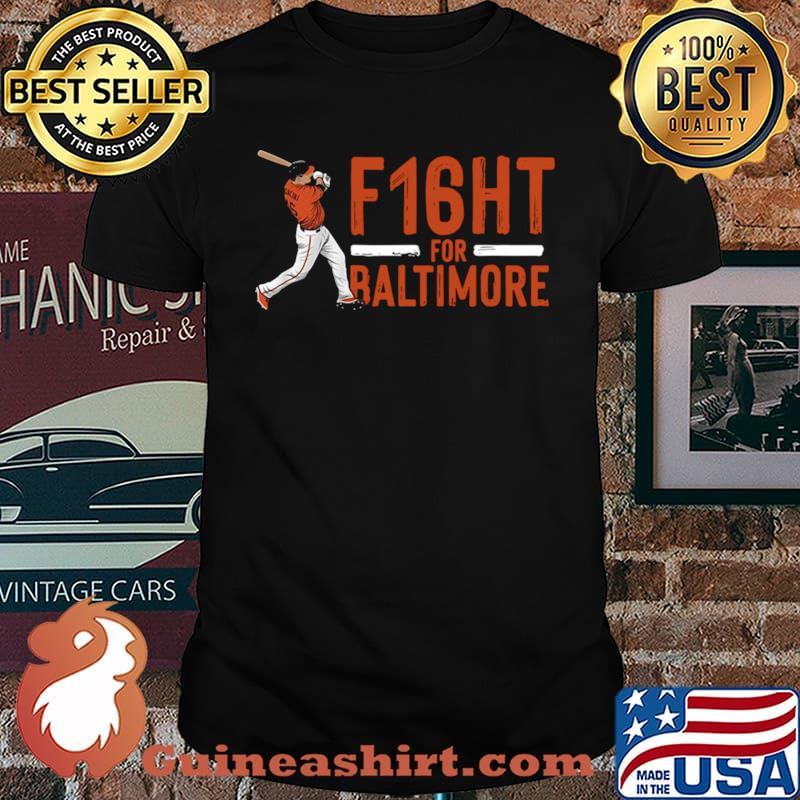 Trey mancini f16ht for baltimore shirt